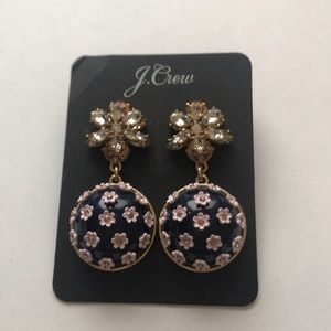 Jcrew Flower Dome Earrings